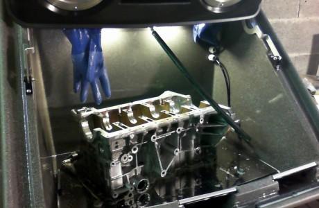 Torrent 500 aluminium header cleaning